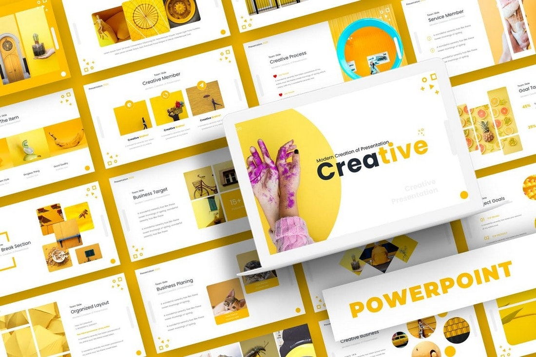 Creative-Company-Profile-Powerpoint-Template-1 20+ Best Company Profile Templates (Word + PowerPoint) design tips  Inspiration|company profile