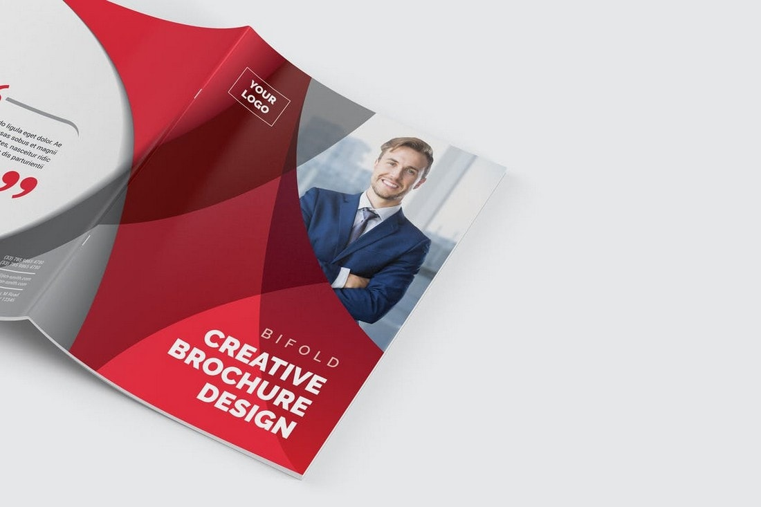 Creative Corporate Bifold Brochure