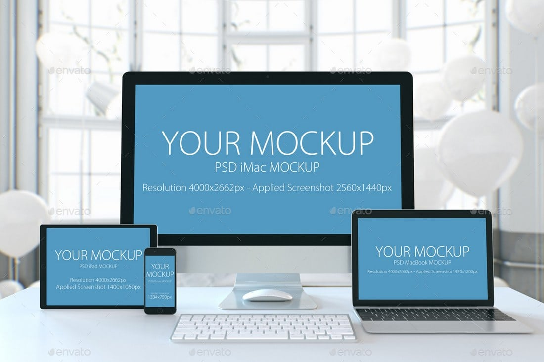 Creative Device Mockup Templates