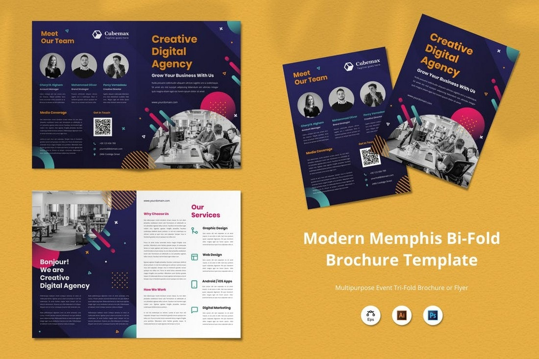 Creative Digital Agency Brochure Design