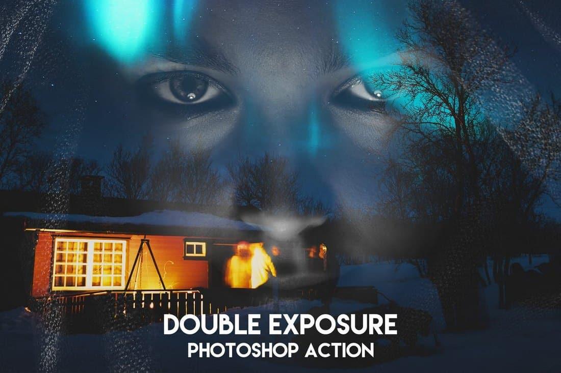 Creative Double Exposure Photoshop Action