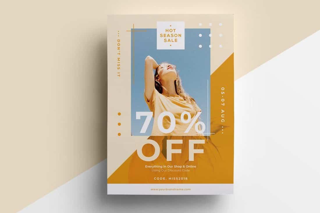 Creative Fashion Sale Flyer