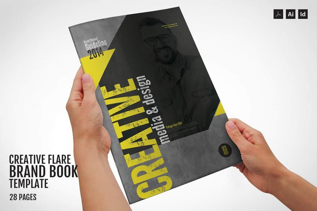 Creative Flare - Branding Guidelines Template