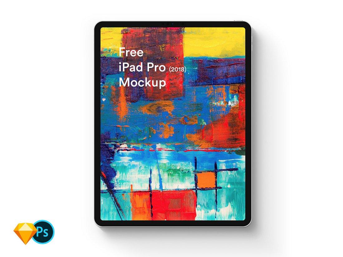 Creative Free iPad Pro Mockup