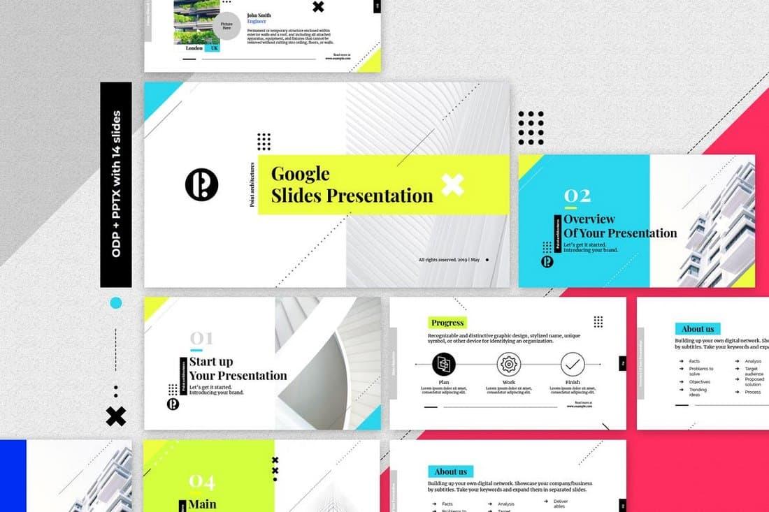 Creative Google Slides Presentation Template