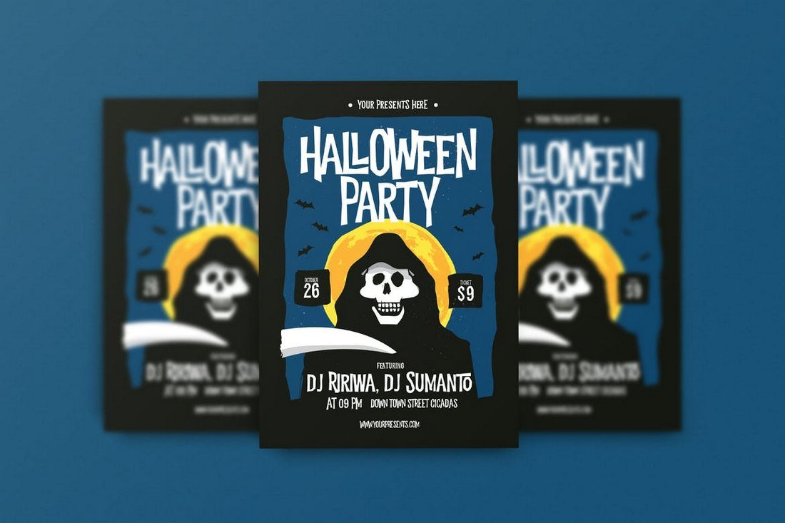 Creative Halloween Flyer Template