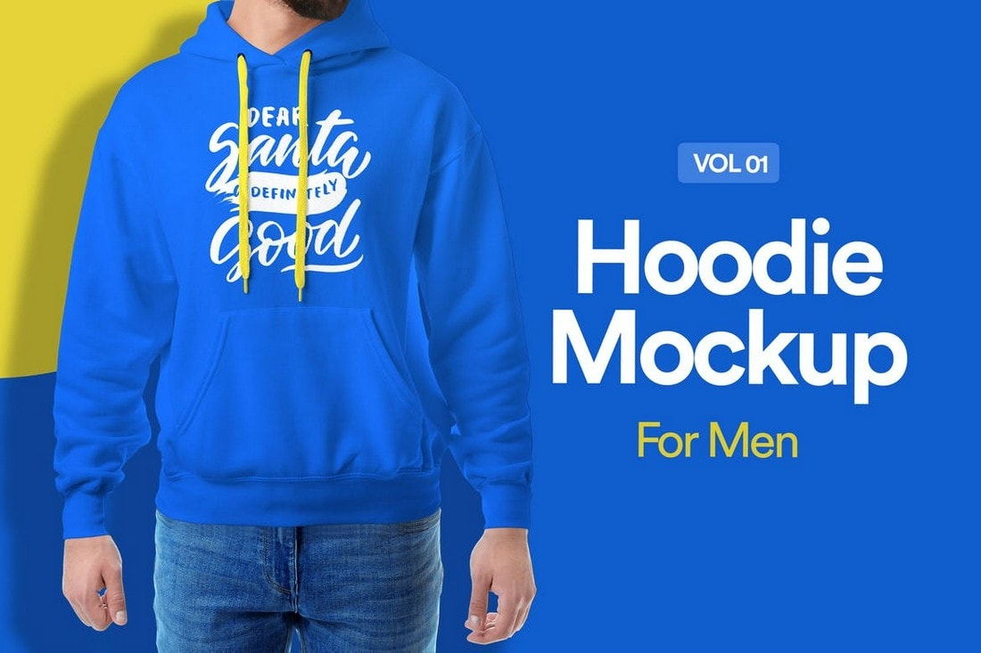 Creative-Hoodie-Mockup-For-Men 20+ Hoodie Mockup Templates (Free & Premium) design tips  Inspiration