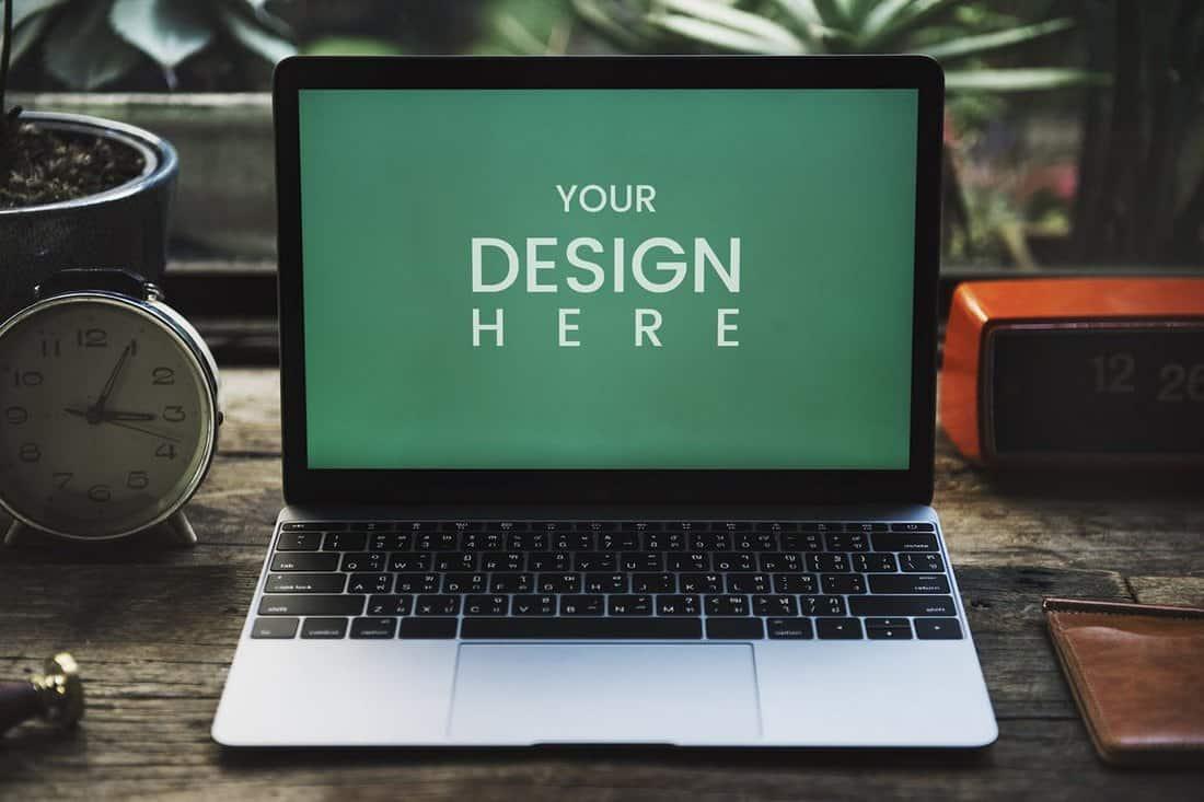 Creative Laptop mockup
