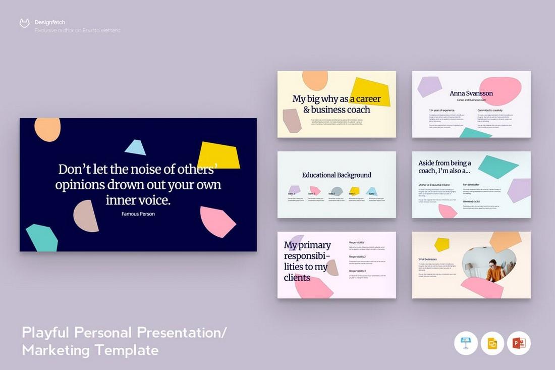 Creative Marketing Presentation Template