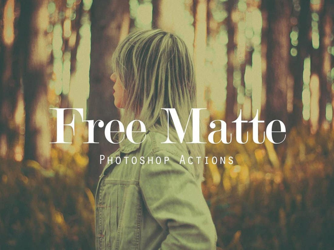 Creative Matte Photoshop Actions