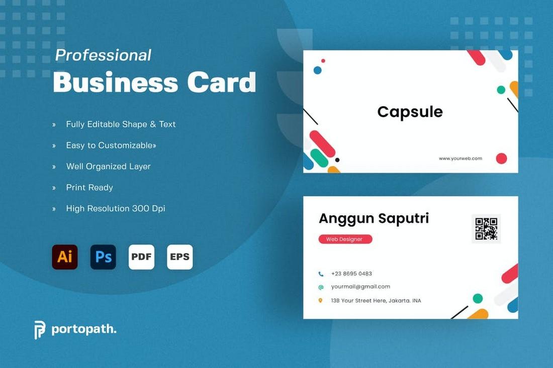 Creative & Minimal Business Card Design