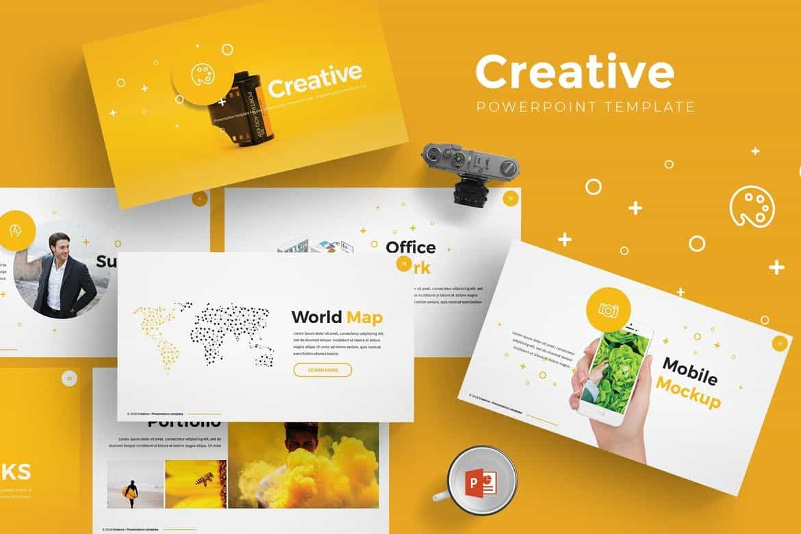 Creative - Modern Powerpoint Template