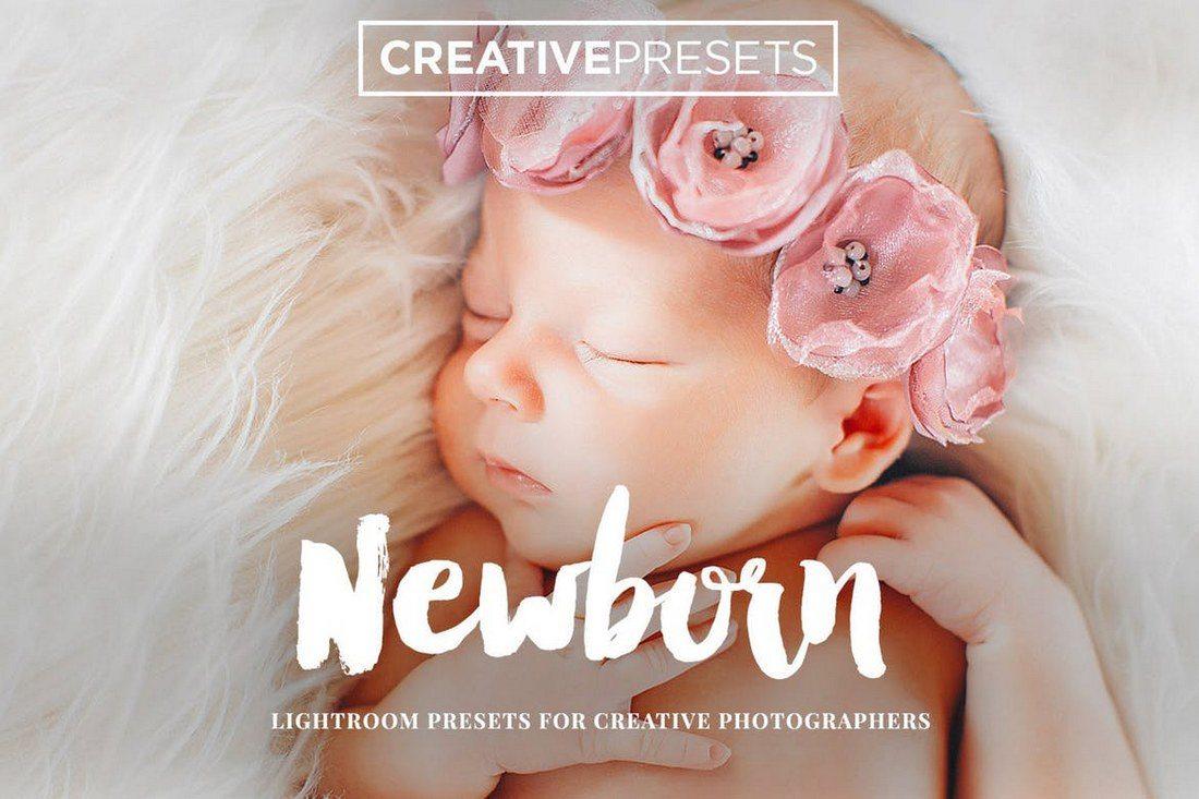 Creative-Newborn-Lightroom-Presets 20 Best Newborn Lightroom Presets for Baby Photography design tips