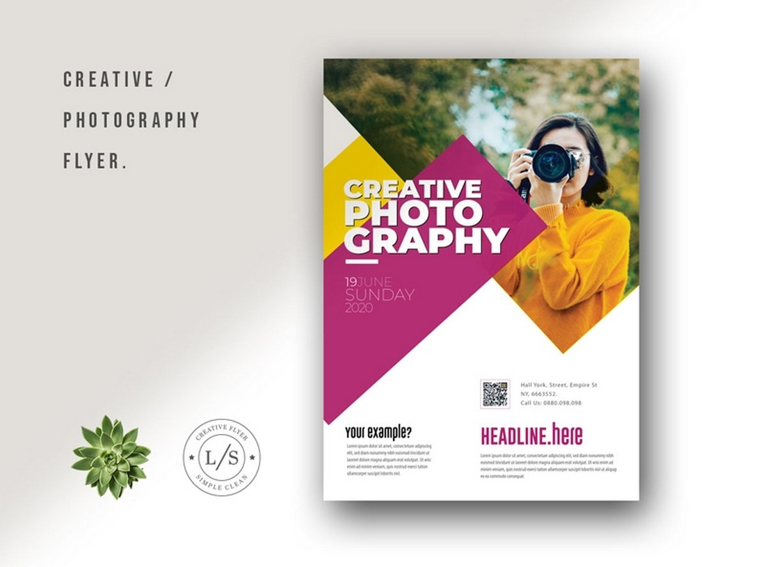 Creative Photography Free Flyer & Poster Template