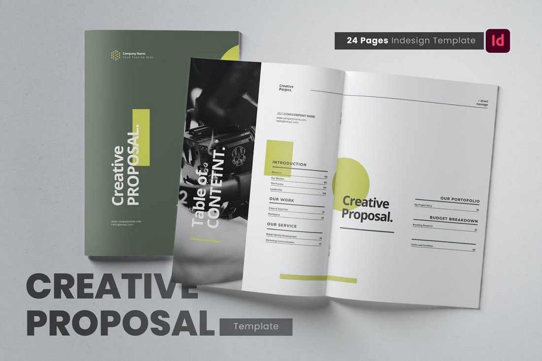 Creative Proposal Template for Word & InDesign