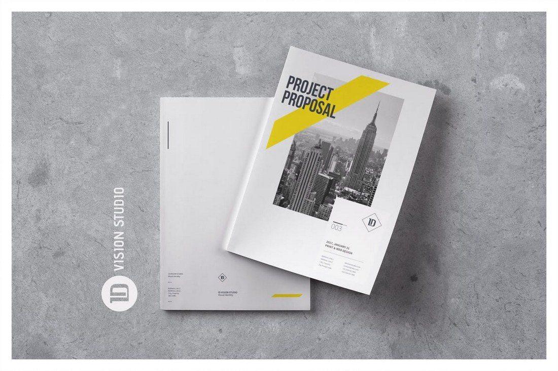 Creative-Proposal-Template 40+ Best Microsoft Word Brochure Templates 2021 design tips