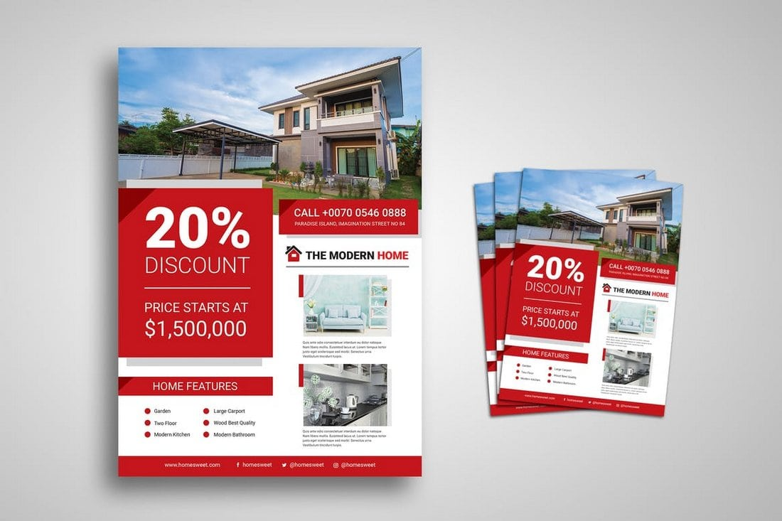 Creative-Real-Estate-Promo-Flyer 30+ Best Real Estate Flyer Templates design tips  Inspiration|flyer|property|real estate