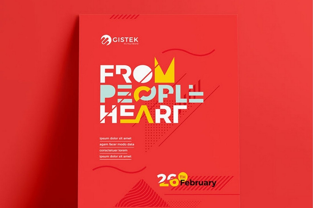 Creative-Red-Poster-Template 20+ Best Free Poster Templates (Illustrator & Photoshop) 2020 design tips  Inspiration