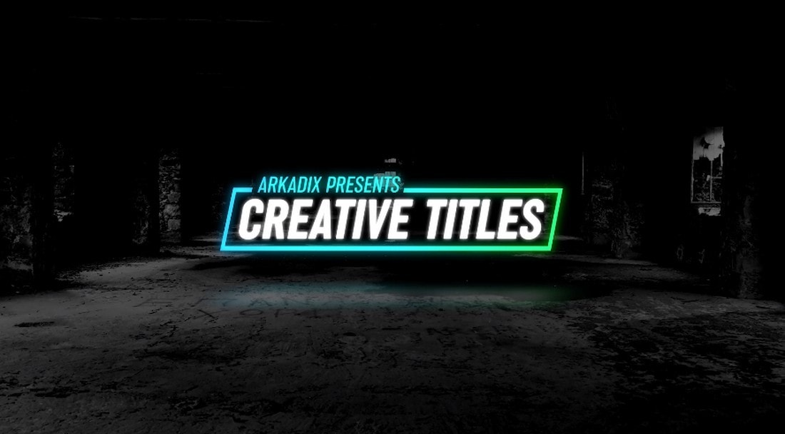Creative Titles 4k for Premiere Pro