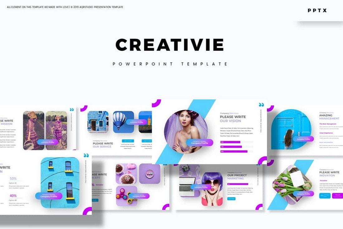 Creativie - Modern Powerpoint Template