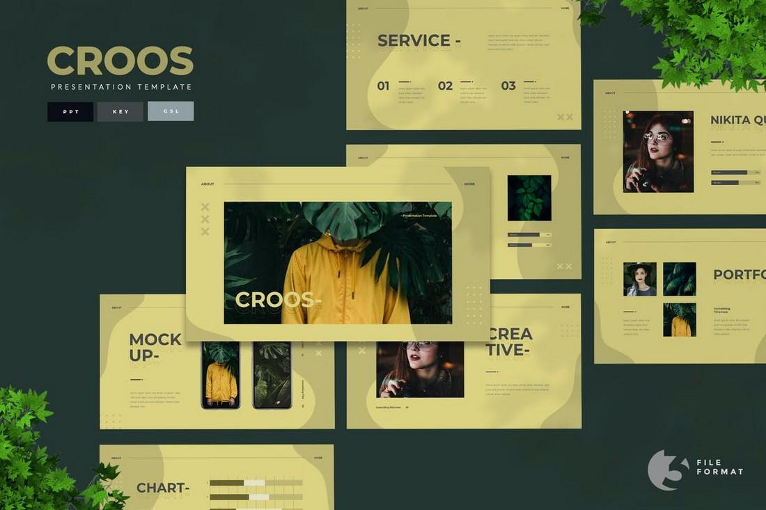 Croos - Creative Presentation Template
