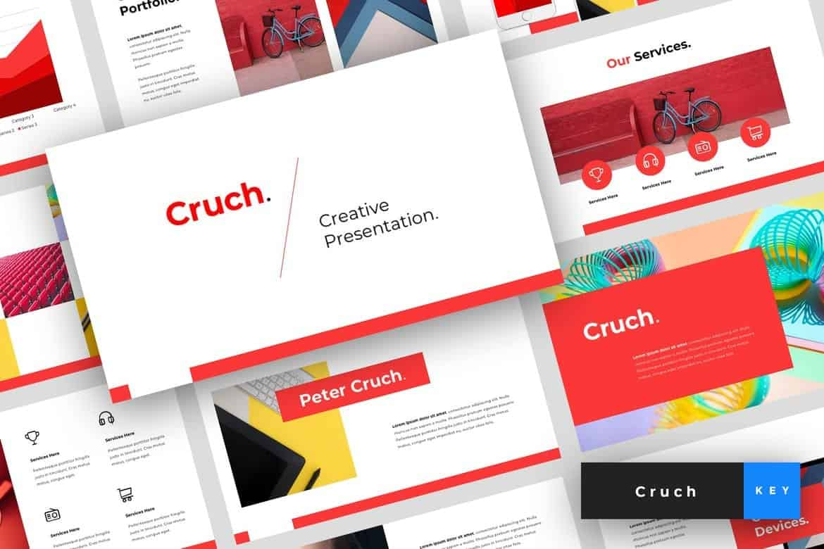 Cruch - Creative Keynote Template