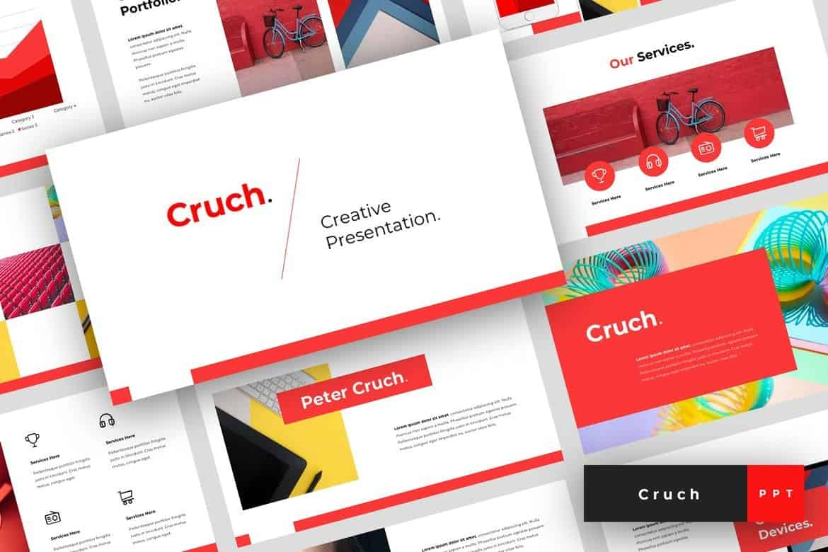 Cruch - Creative PowerPoint Template
