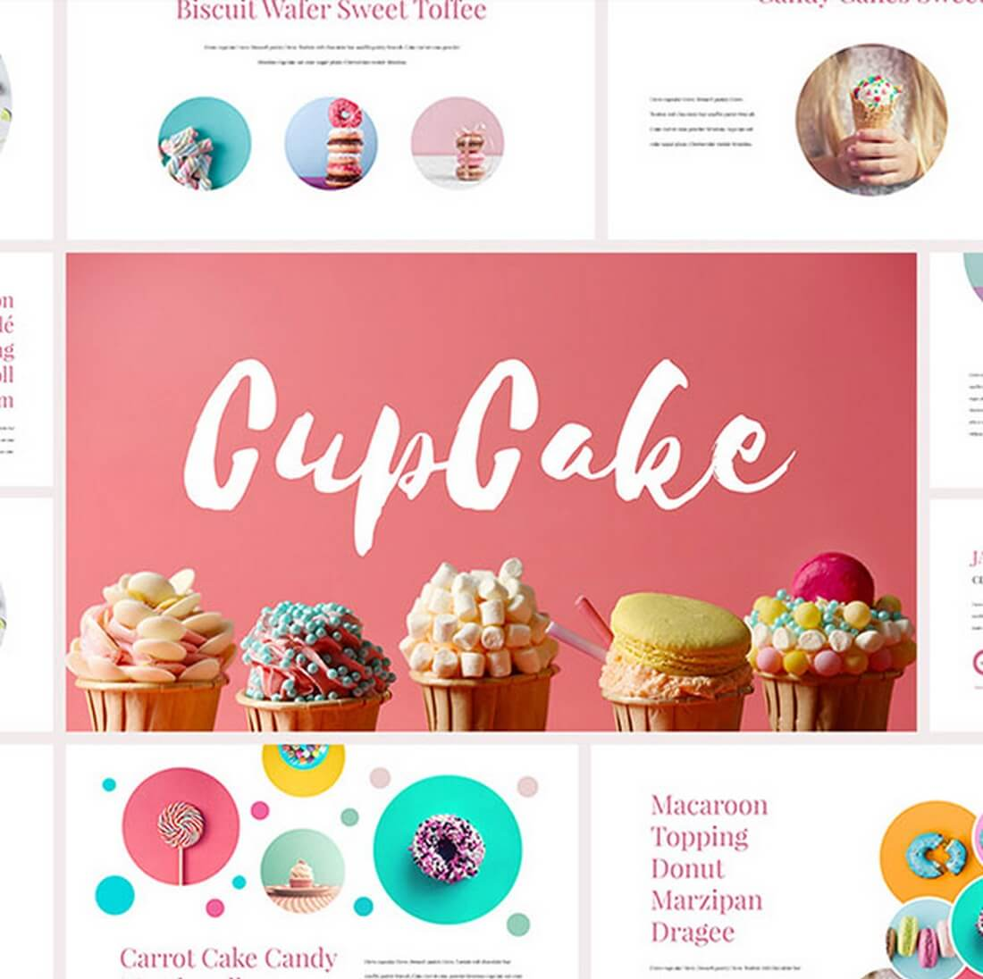 CupCake-Keynote-Template 30+ Best Keynote Templates of 2018 design tips