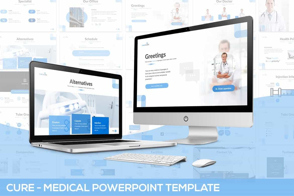 Cure - Healthcare Powerpoint Template