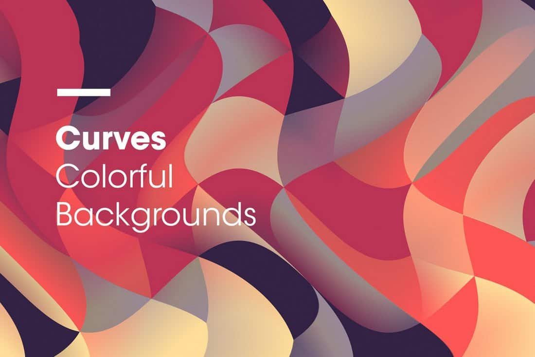 Curves - Colorful Backgrounds
