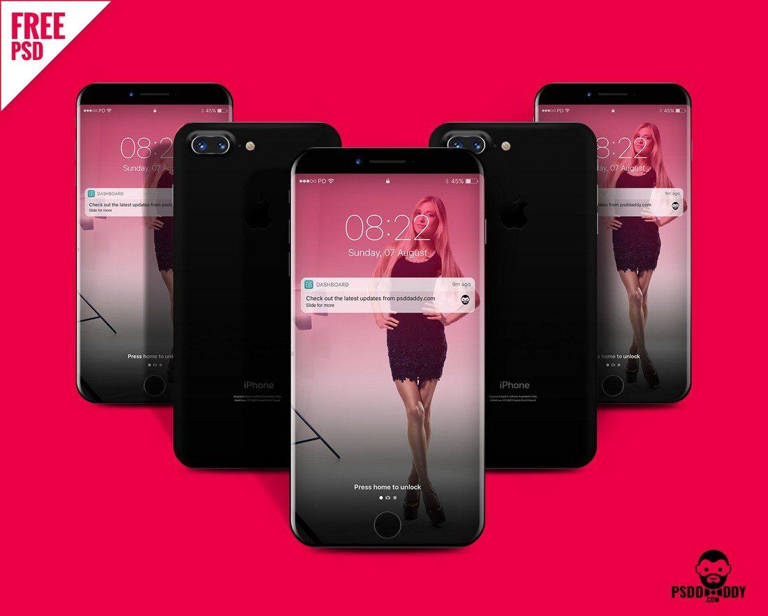 Custom-iPhone-8-Design-Mockup 20+ Best iPhone 8 Mockups design tips