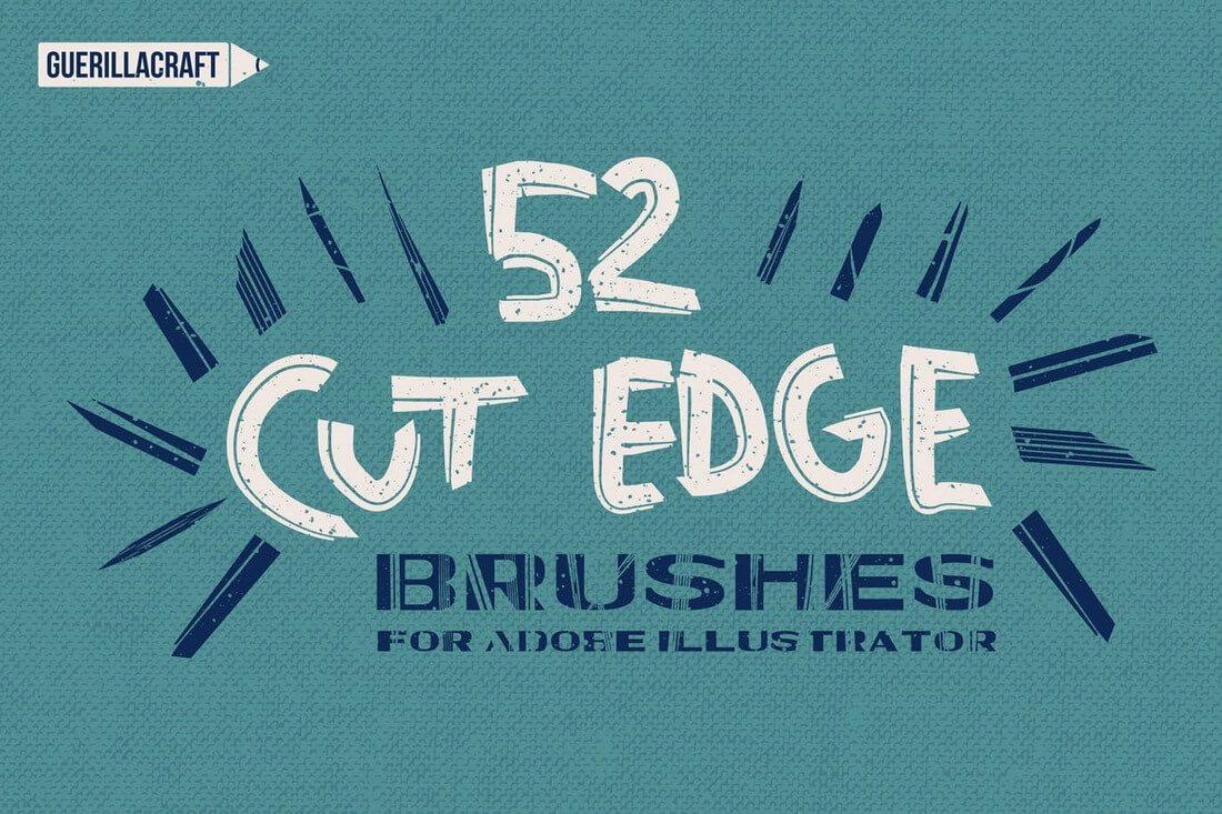 Cut-Edge-Brushes-For-Adobe-Illustrator 30+ Best High-Quality Photoshop & Illustrator Brushes design tips