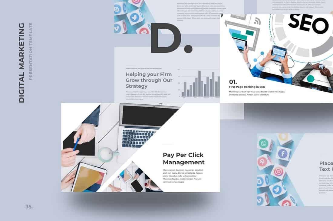 DMZ - Digital Marketing Keynote Template