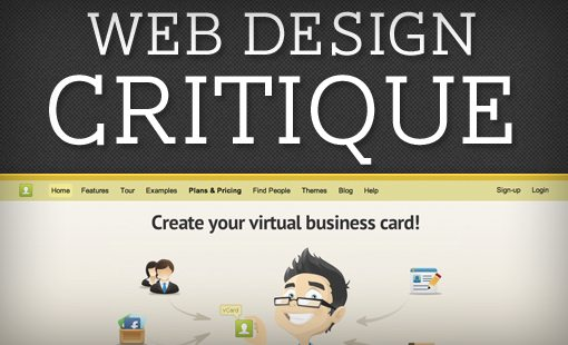 Web Design Critique #76: IdentyMe