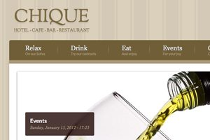 Web Design Critique #79: Chique Drupal Theme
