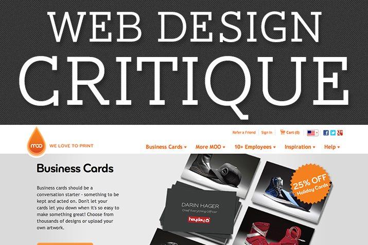 Web Design Critique #90: MOO.com