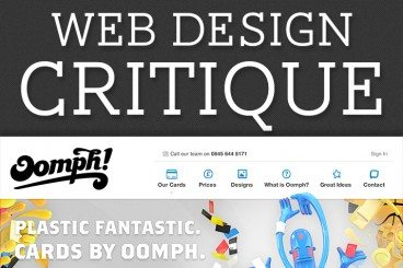 Web Design Critique #92: Oomph