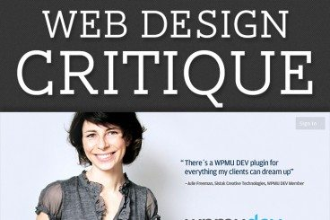 Web Design Critique #95: WPMU DEV