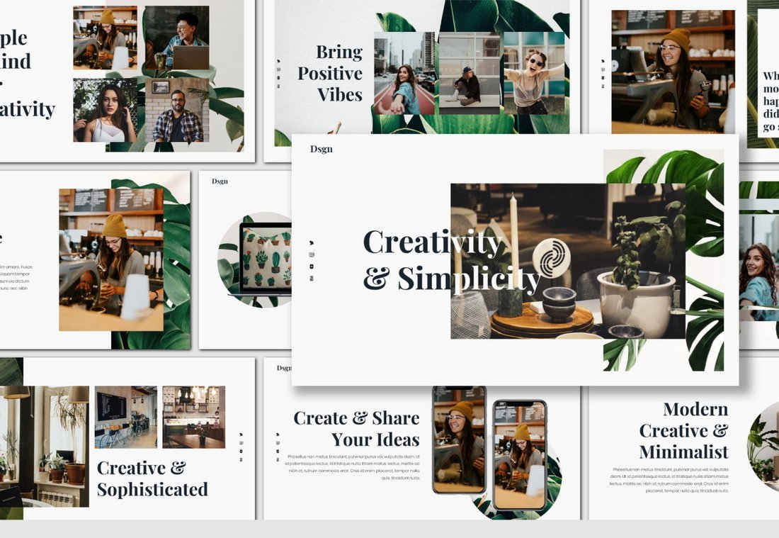 DSGN - Free Lookbook Presentation Template