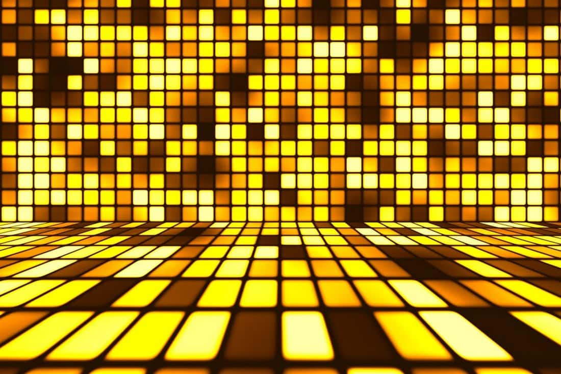 Dance Party Floor Background