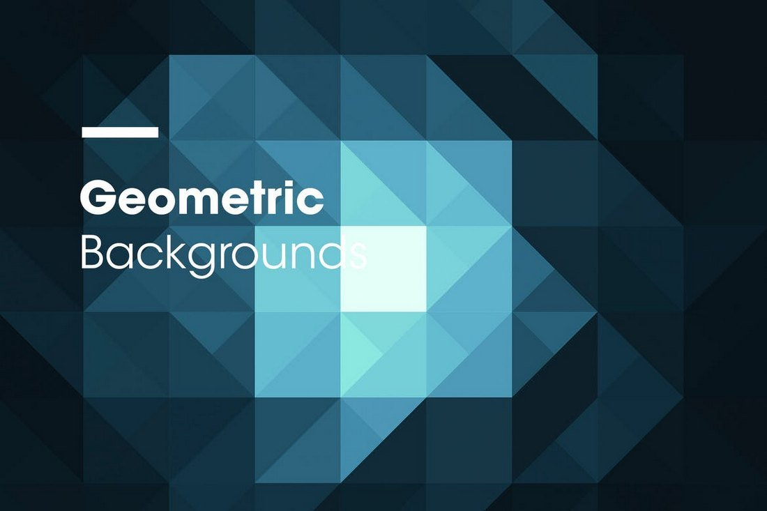 Dark Geometric Backgrounds