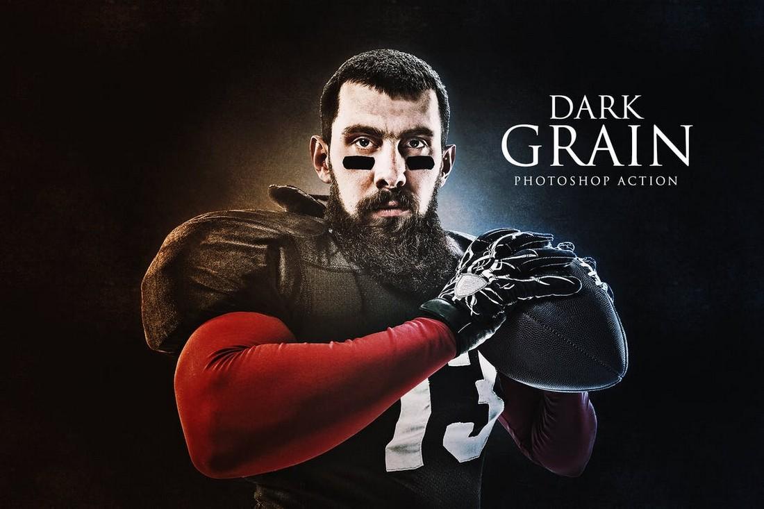 Dark-Grain-Photoshop-Action 50+ Best Photoshop Actions of 2020 design tips