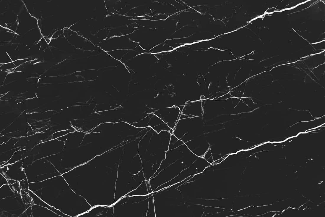 Dark Marble B&W Background
