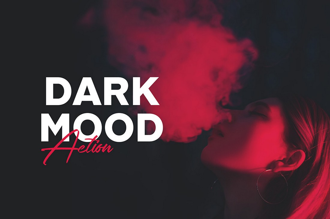 Dark-Mood-Free-Photoshop-Action-1 50+ Best Photoshop Actions of 2020 design tips