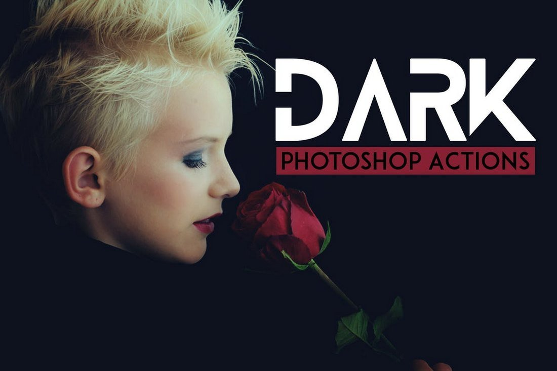 Dark Photography Photoshop Actions