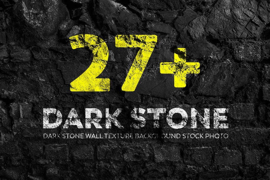 Dark-Stone-Wall-Texture-Backgrounds 30+ Best Subtle Black & White Background Textures design tips