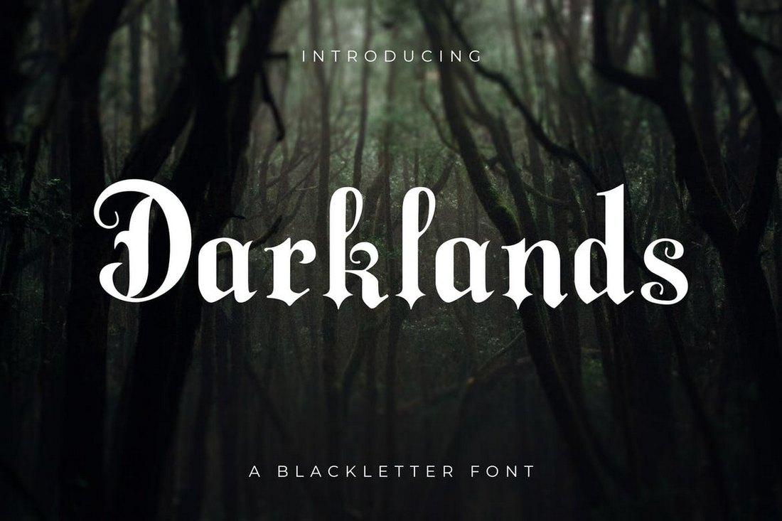 Darklands - Elegant Blackletter Font
