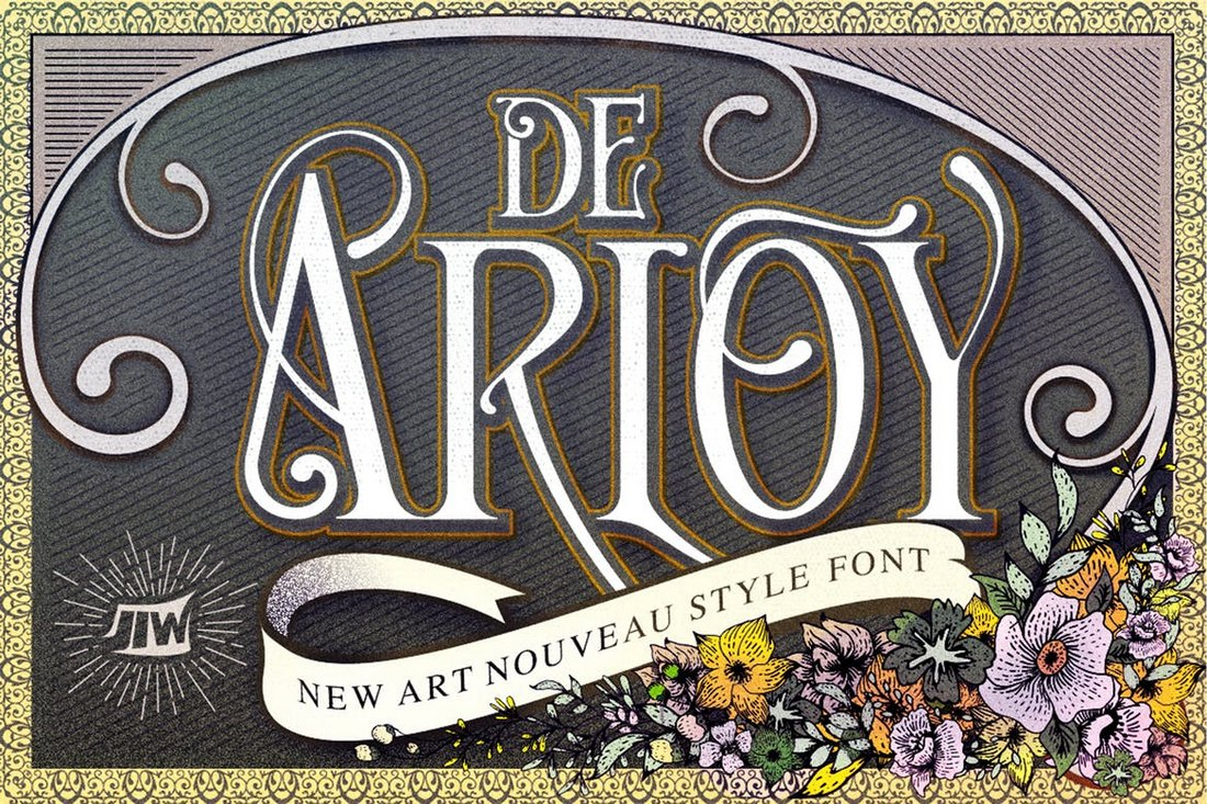 De-Arloy-New-Art-Tattoo-Font 20+ Best Tattoo Fonts & Lettering design tips