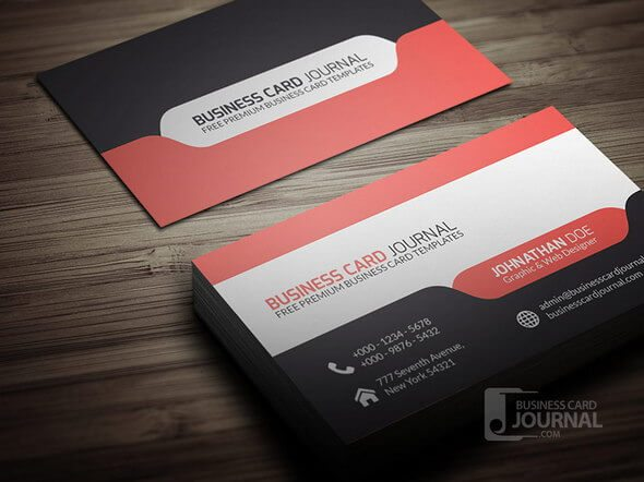 Corporate Creative Business Card Mockups Design Shack - Business card indesign template