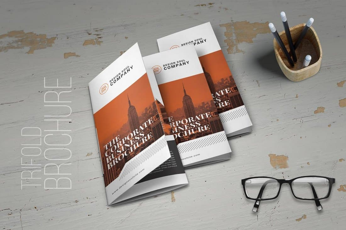 Design-Company-Trifold-Brochure 20+ Best InDesign TriFold Templates 2020 design tips  Inspiration